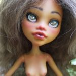 Mala mh repainted art doll