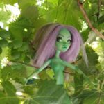 Trixie monster high reroot purple hair