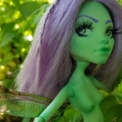 Trixie fairy art doll