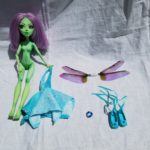 Trixie doll set with wings and dress