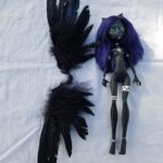 Zara art doll with wings harness