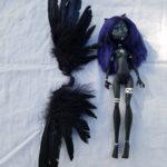 Zara art doll with wings harness
