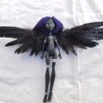 Zara repainted monster high doll